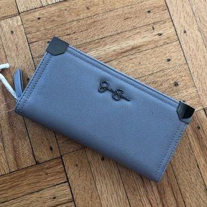 Jessica Simpson Grey Wallet **NWT**